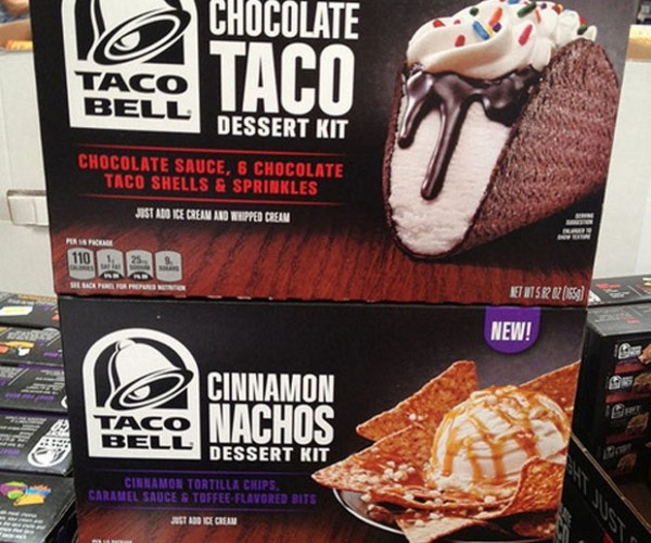 Taco Bell Sells Ice Cream Tacos and Nachos: Run for the Freezer