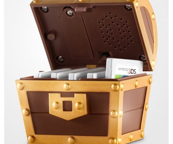 Zelda: A Link Between Worlds Collector's Edition Has a Tiny Musical Chest: Ta Da Da Da!