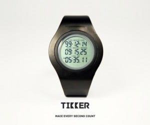 Tikker: The Wristwatch That Counts Down Your Life