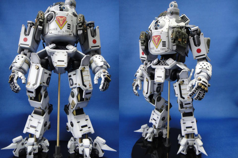 fan made titanfall titan mech action figure that was fast