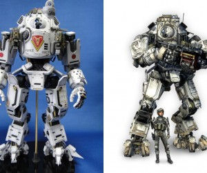 Fan Made Titanfall Titan Mech Action Figure: That Was Fast