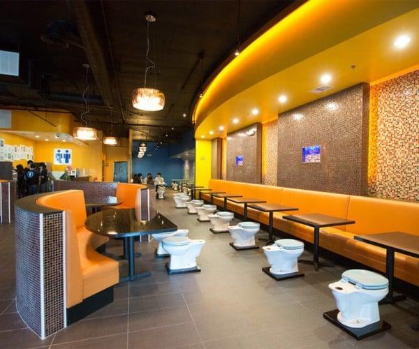 Magic Restroom Cafe Serves up Crappy Food