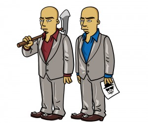 twins breaking bad simpson 300x250