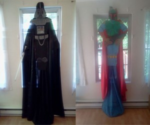 Darth Vader and Boba Fett Character Curtains: The Dark Side of Your Windows