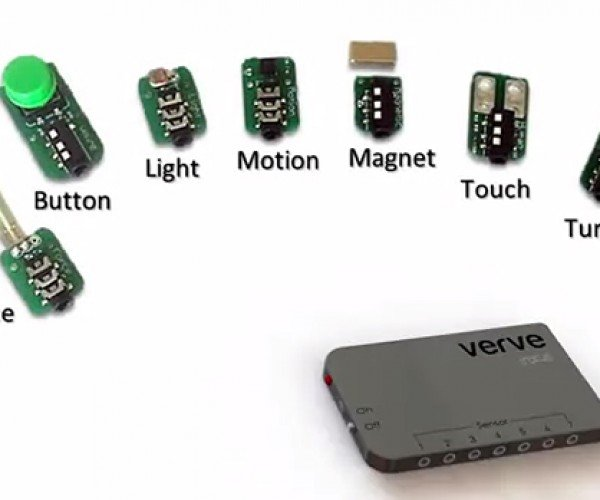 Verve Sensor Kit Emulates Mouse & Keyboard: The World is Your Controller