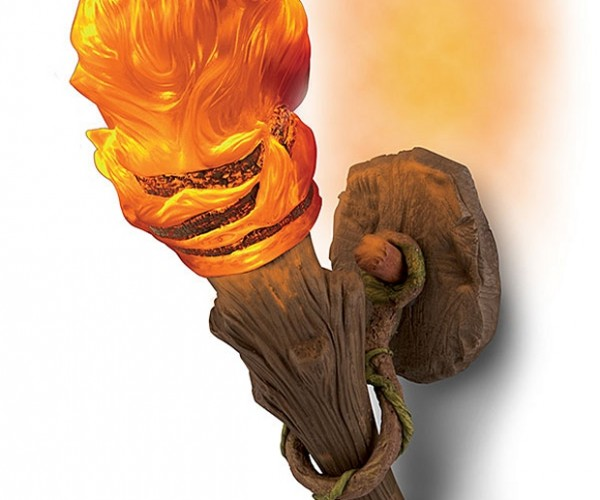 Wall Torch Sconce Turns Anyone into Indiana Jones, Cave Not Included