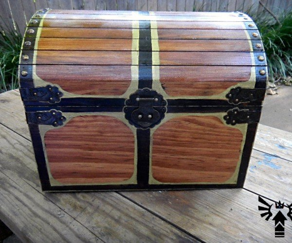 Musical Life-Sized Treasure Chest from the Legend of Zelda: Ocarina of Time