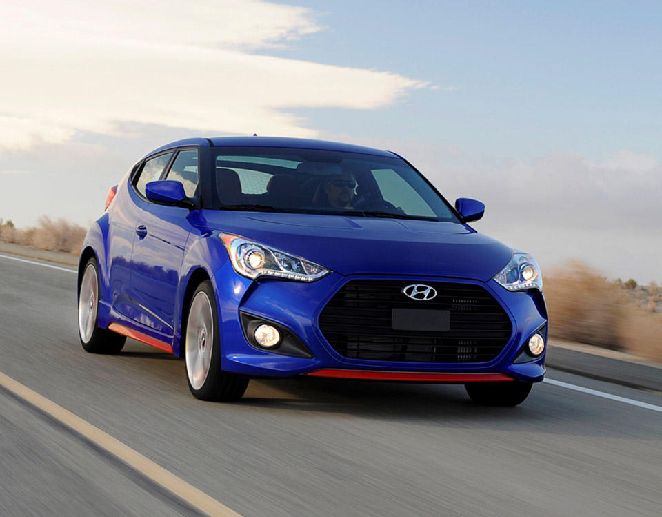 hyundai shows off veloster turbo r spec technabob. Black Bedroom Furniture Sets. Home Design Ideas