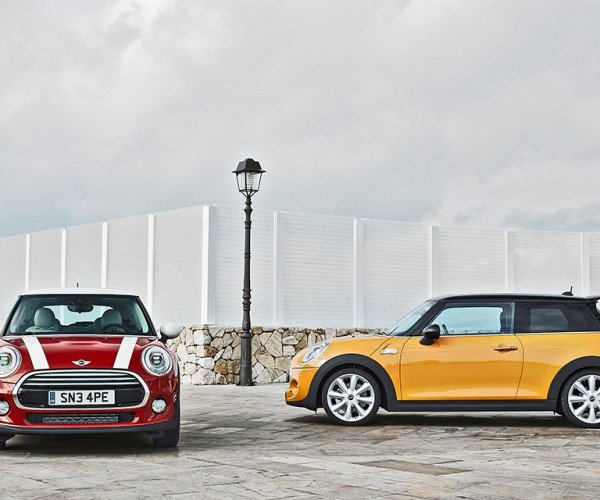 New MINI Gets Bigger, But It's Smaller under the Hood