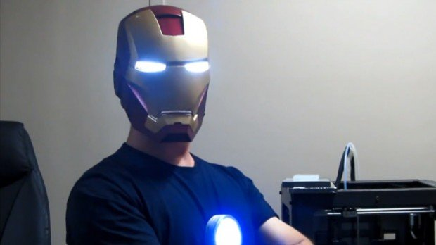 3d printed iron man helmet by ryan brooks 620x348