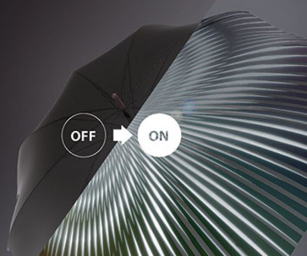 Janus Dynamic Fabric Lights up or Warms You up, as Needed
