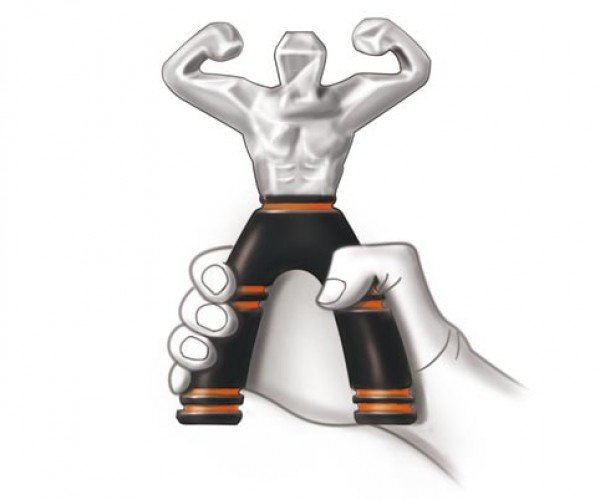 Muscle Guy is a Hand Strengthening Tool with a Personality
