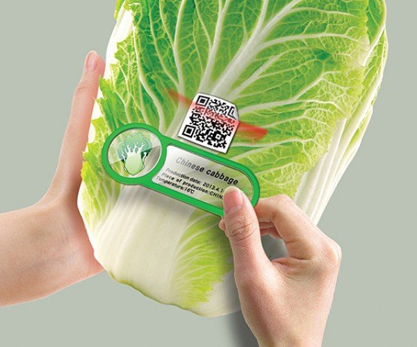 QR Fridge Magnet Lets You Know When Your Food is Going Bad
