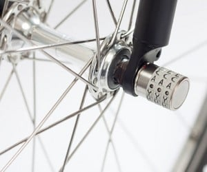 Sphyke Bike Wheel Lock Locks Your Detachable Wheel