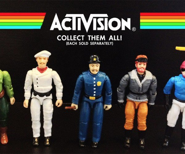 Custom Activision/Atari 2600 Action Figures: If Only River Raid Had a Person in It