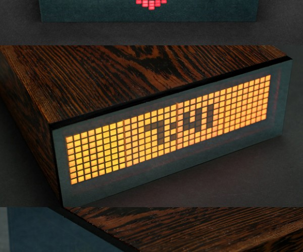 ALARMclock Shows How Much Money, Friends and Time You Have Left: Rude Awakening