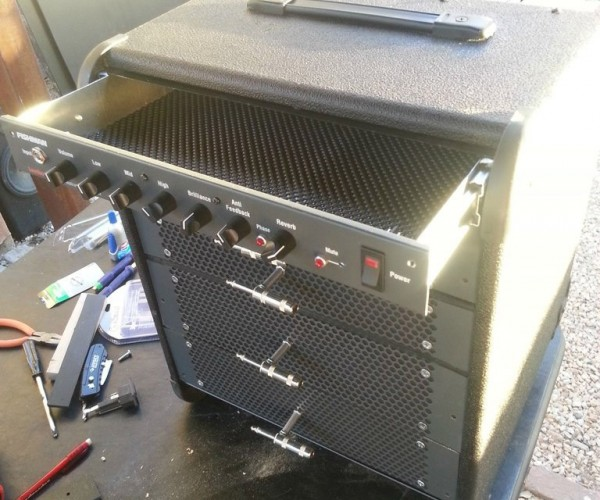 Guitar Amp Hacked into a Toolbox: Crank It Up to 11 and Hand Me a Wrench