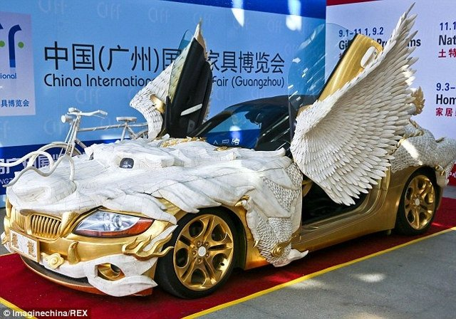Gold Dragon Bmw With Yak Bones Uglier Than Justin Bieber