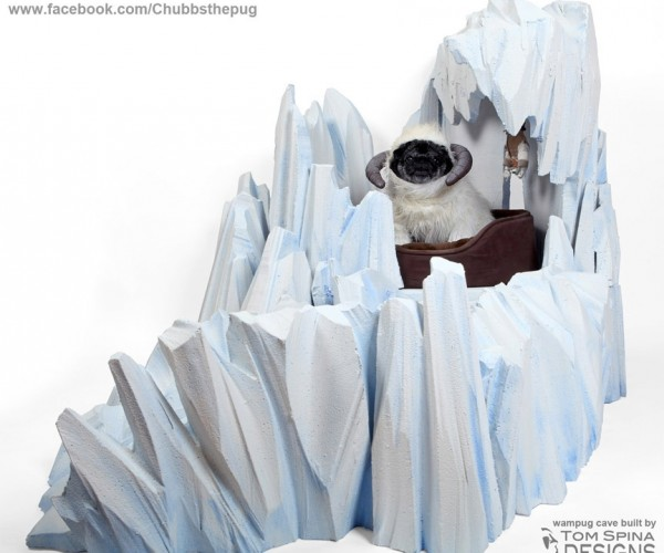 Hoth Wampug Cave Dog Bed: Of Course We'll See Master Luke Again