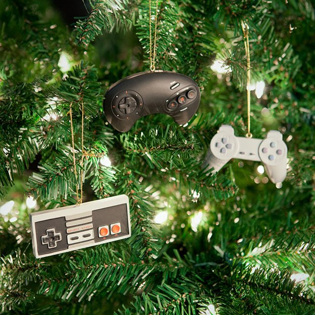 classic video game controller ornaments by thinkgeek 2