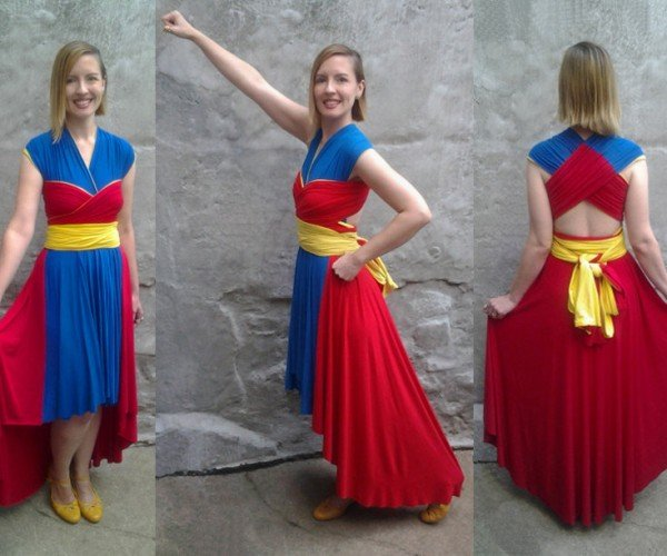 Comic Book Inspired Dresses Can Be Worn in Diffferent Ways: Alter Egos