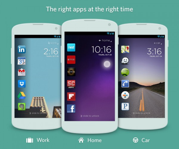 Cover App Contextualizes Your Android Home Screen