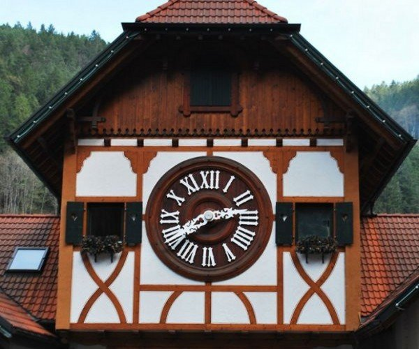 You Could Live Inside the World's Largest Cuckoo Clock
