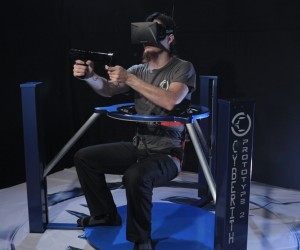 Cyberith Virtualizer VR Treadmill Lets You Step Into Virtual Shoes (and Gloves)