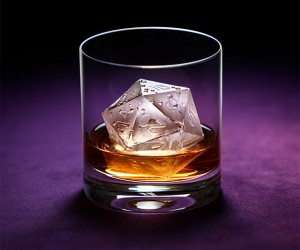 D20 Ice Cube Mold: Make Ice, Roll Dice