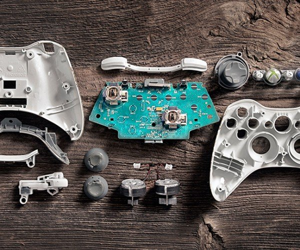 Deconstructed Video Game Controllers: The ABXY's of Gaming