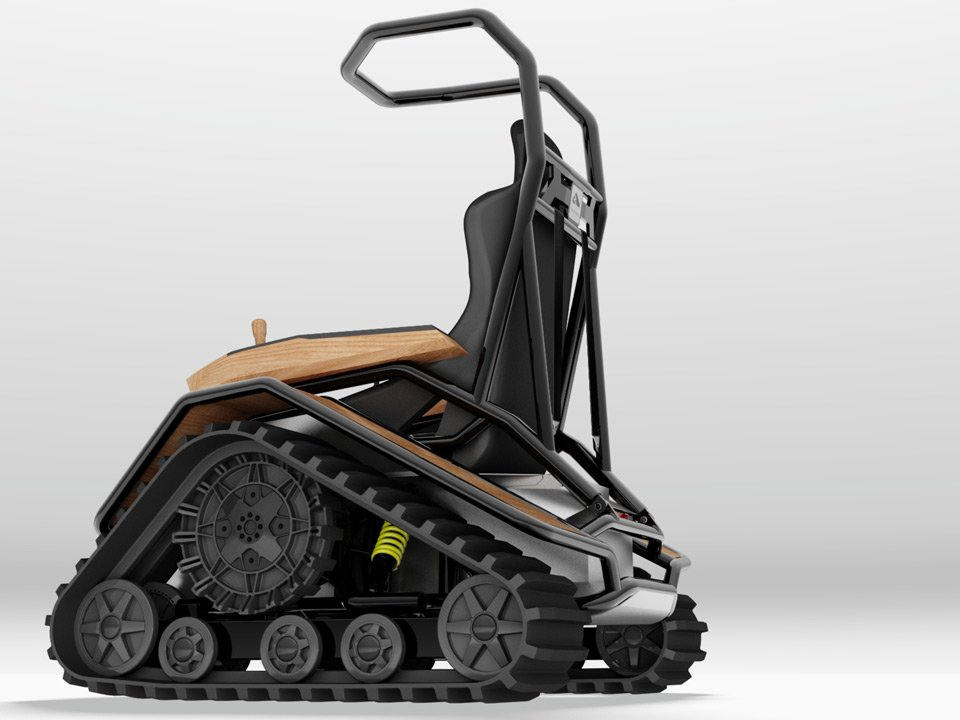 Best Off Road Vehicle Of All Time >> Der Zeisel: The Ultimate Off-Road Wheelchair