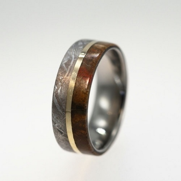Dinosaur Bone Wedding Bands Mark The Extinction Of Your