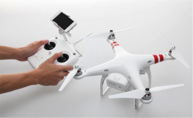 phantom 2 vision quadricopter