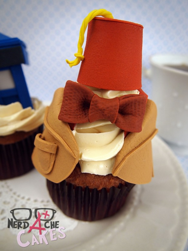 doctor who cupcake