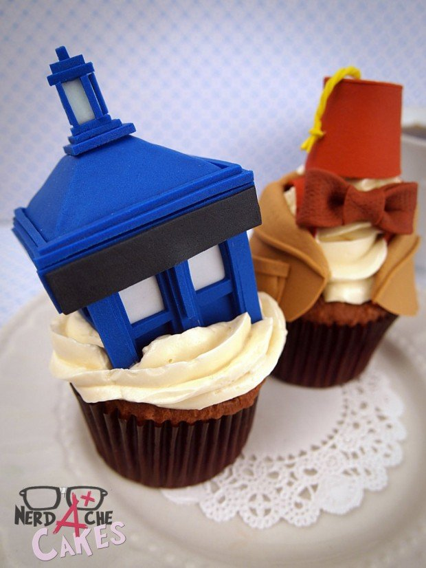 doctor who cupcake1