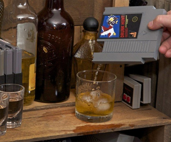 Entertainment Flask: Sip, Don't Blow on This NES Cartridge