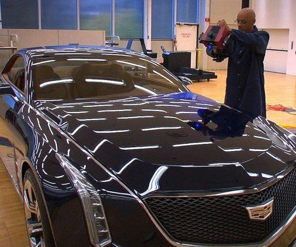 Cadillac Elmiraj Concept Car Made Possible by 3D Scanning Tech