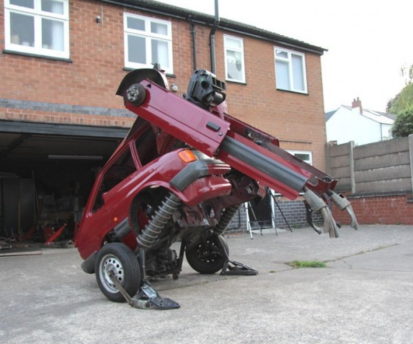 1988 Ford Fiesta Becomes a Transformer