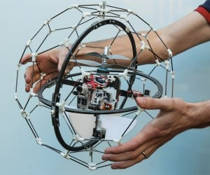 Gimball Flying Drone Is Designed to Deftly Navigate Difficult Locations