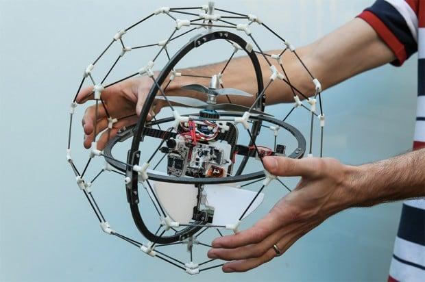 gimball_flying_drone