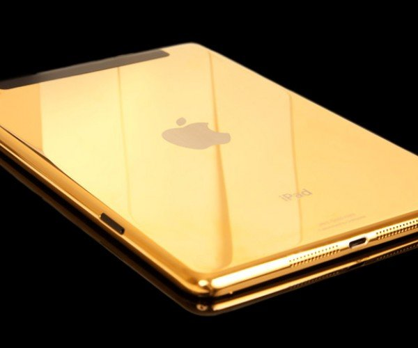 Disappointed There's No Gold iPad Air or Mini Yet? Gold Genie Has You Covered
