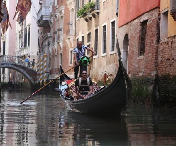 Google Street View Explores Venice Italy