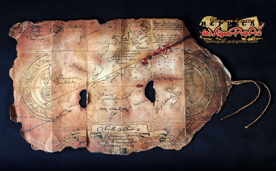 ready for adventure with this goonies treasure map replica