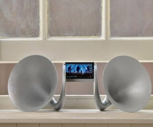 The Gramohorn II: Accoustic Speakers Gone Wild