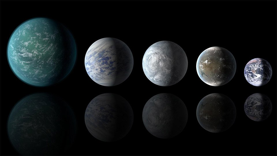 Study Claims At Least 8.8 Billion Earth Size Planets Exist ...