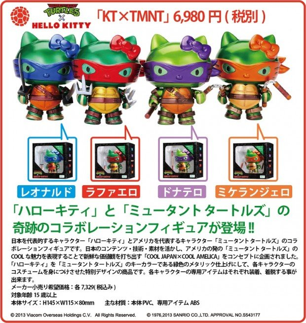 hello kitty turtles