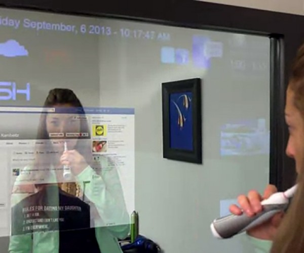 iMirror Interactive Mirror: Project Glass