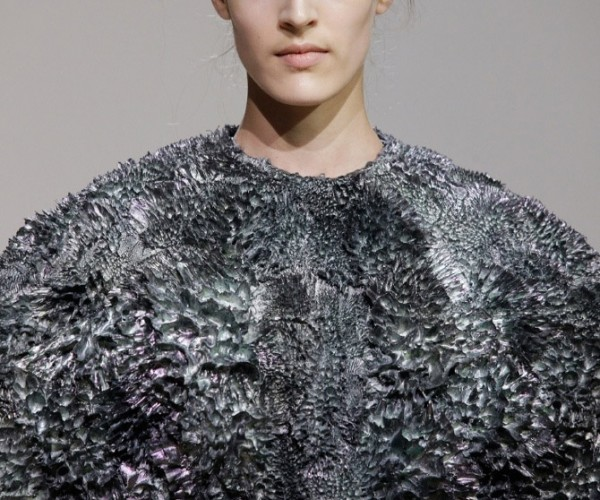 Heavy Metal Fashion: Dresses Sculpted Using Magnets and Iron