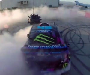 Ken Block Plays Vehicular Tetherball in Gymkhana Six