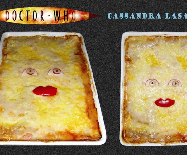 Doctor Who Cassandra Lasagna: The Last Living Pasta